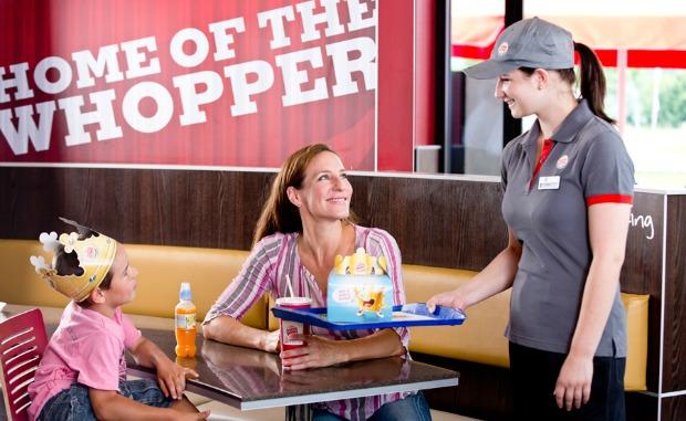 Burger King oferta de empleo