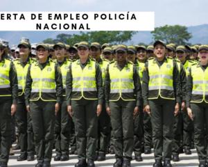 Oferta de empleo Policía Nacional